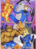 Fantastic Four- Puzzle by Jayson-kretzer