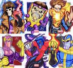 Marvel Universe Sketch Cards