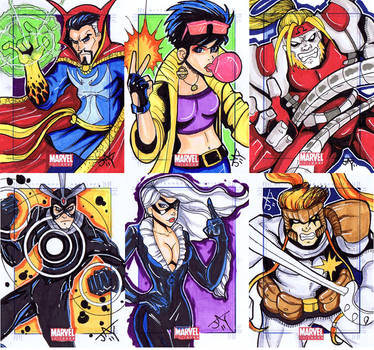 Moar Marvel Universe Cards