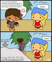 Lyke, omg, a coconut? by rainbowz-and-stuffz