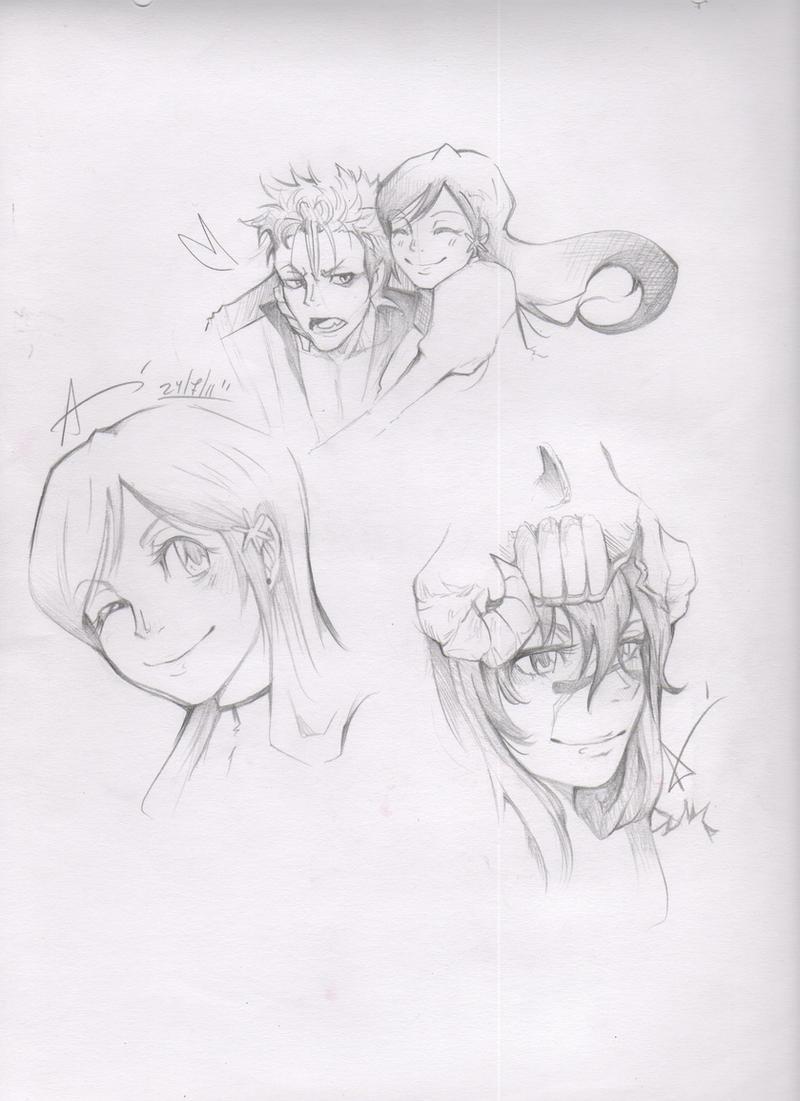 Bleach sketch 2 by vinces