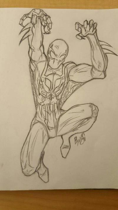 Spiderman 2099 by Kirito3502