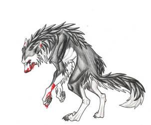 mono the werewolf by feralcatalyst