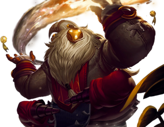 League of Legends Render: Bard by Singularity01