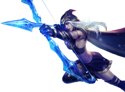 League of Legends Render: Ashe