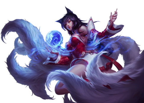 League of Legends Render: Ahri