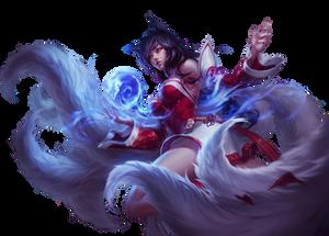 League of Legends Render: Ahri