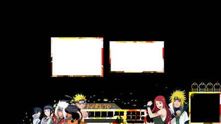 League of Legends Stream Overlay: NARUTO!!! by Singularity01