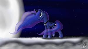 Wind Swept Luna