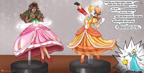 Amiibo TF - Peach, Daisy and Rosalina/Patreon Gift