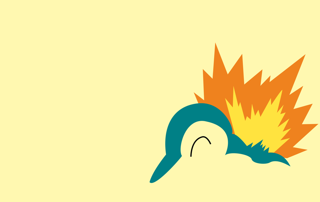 Cyndaquil by PokeTrainerManro on DeviantArt Cyndaquil Wallpaper