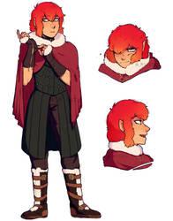 [Commission] Character design by MistyTheBakaNeko