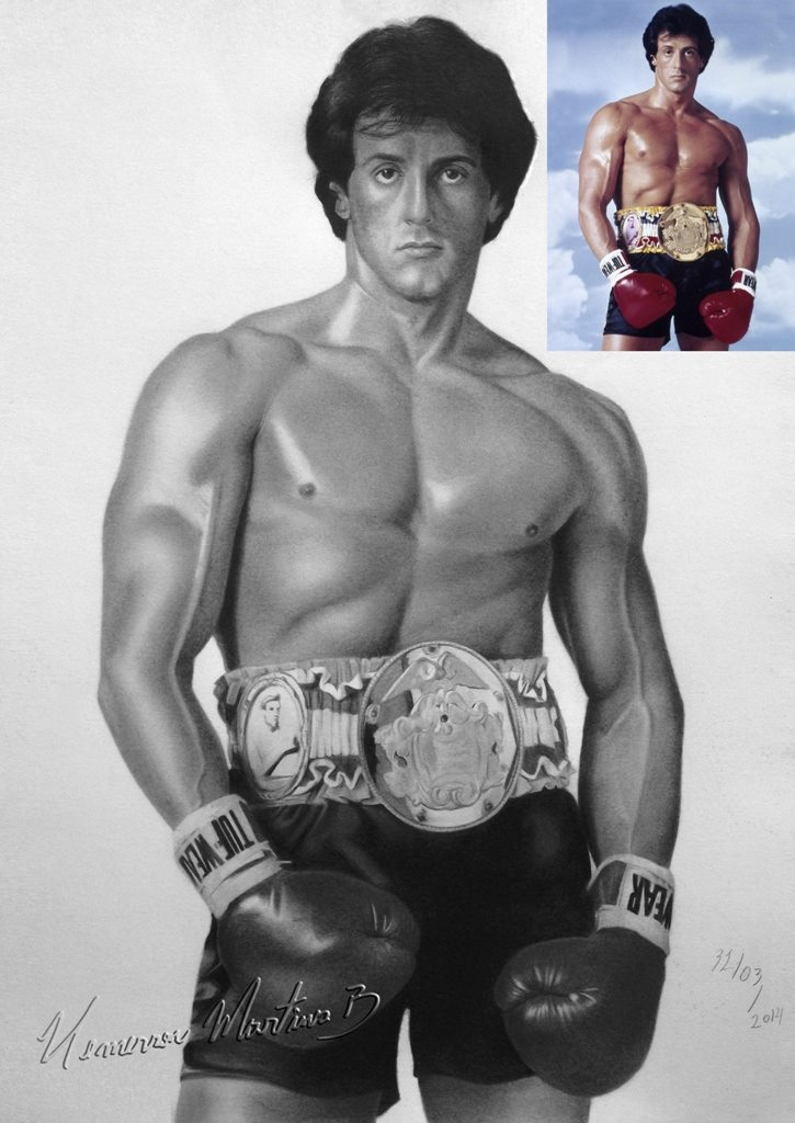 an analysis of the rocky movies by sylvester stallone Was sylvester stallone so broke before he made 'rocky' that he sold his dog for  $50  the story of sylvester stallone's film career and the rocky film franchise is   myth fabricated in keeping with rocky's theme of the underdog triumphant.