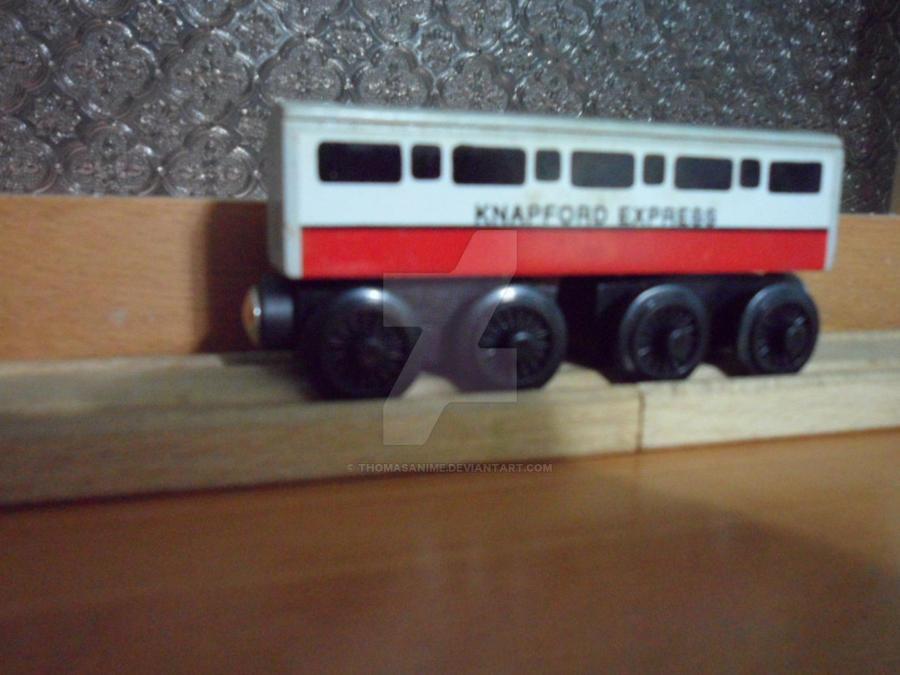 Thomas Wooden Railway Knapford Express Coach By Thomasanime On