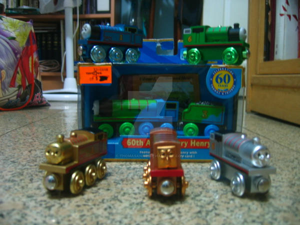 My Thomas 60th Anniversary Wooden Railway Models By Thomasanime On
