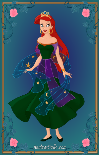 Ariel's Topsy Turvy Dress (customized) by ThomasAnime