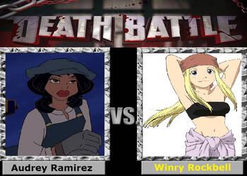 Death Battle - Audrey Ramirez vs. Winry Rockbell by ThomasAnime