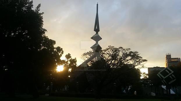 Sunset at 228 Memorial Park 2