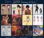 2018 Art Summary by Estherella