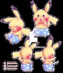Pikachu in Boxers