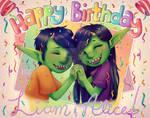 The Goblin Twins' Birthday