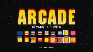 STYLES + FONTS - Arcade