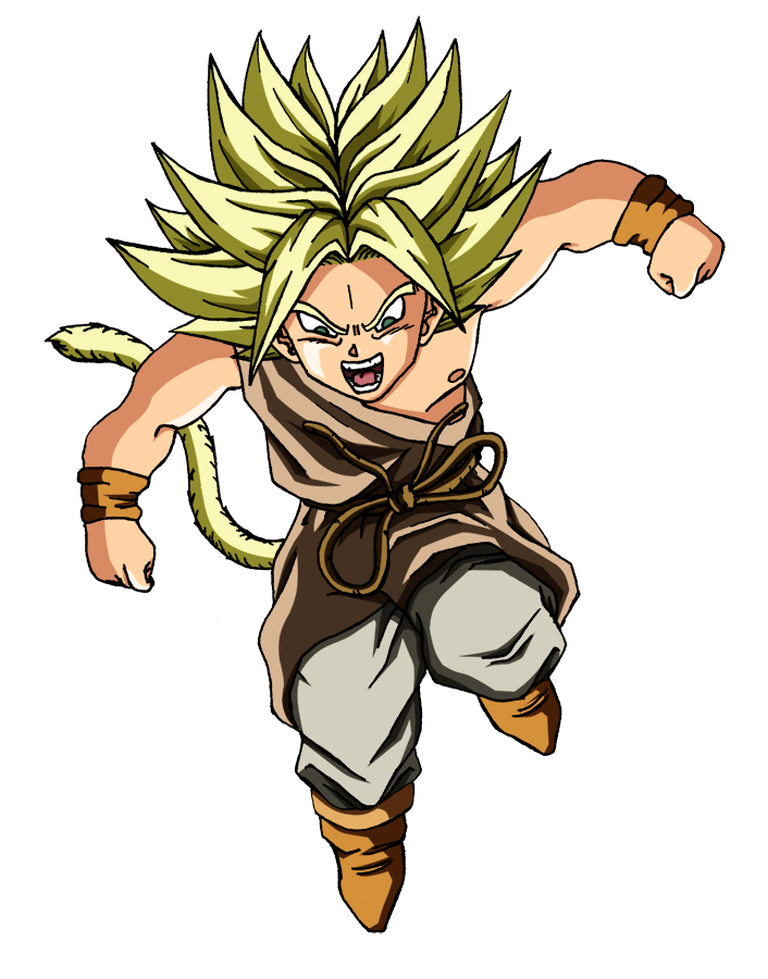 Kid Broly SSj by Say4 on DeviantArt