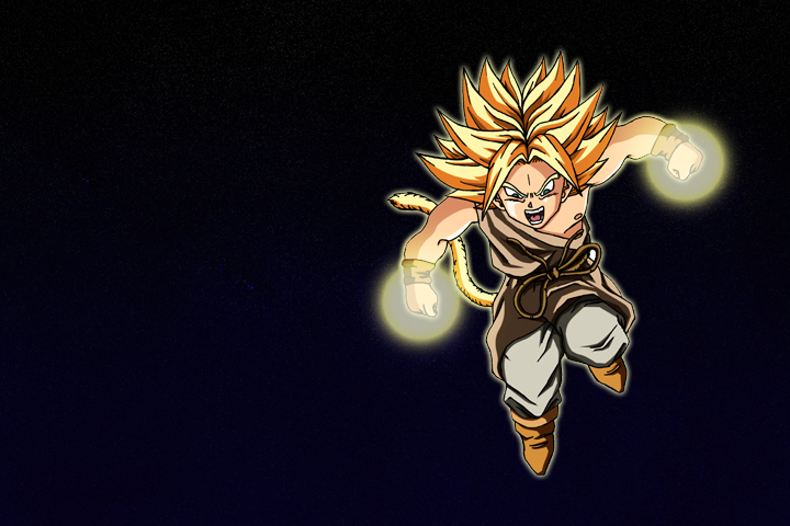 Kid Broly SSj in space by Say4 on DeviantArt