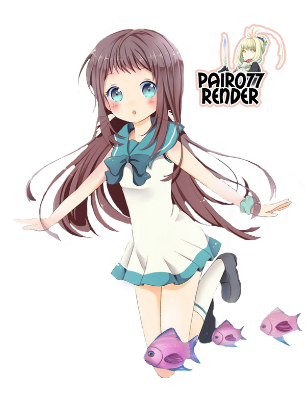 Renders anime Nagi_no_asukara_render_by_pairo77-d76qdds