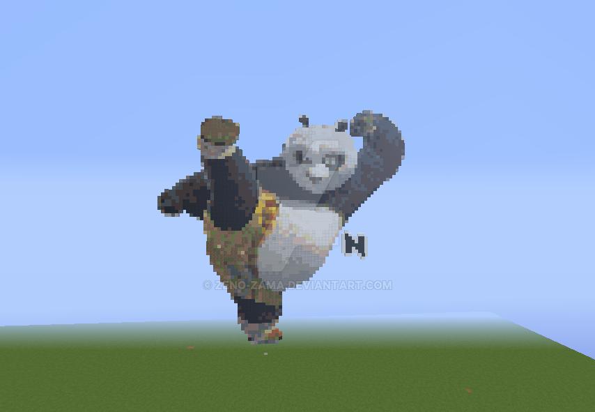 Build Pixel Art Po Kungfu Panda By Zeno Zama On Deviantart