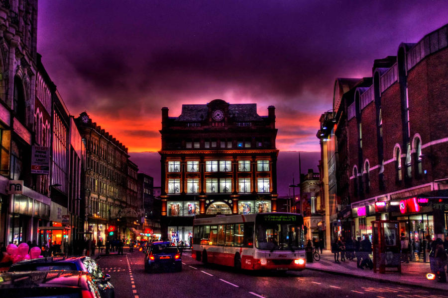 Illuminated Belfast by tahnee-r