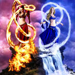 Elemental: Fire and Water