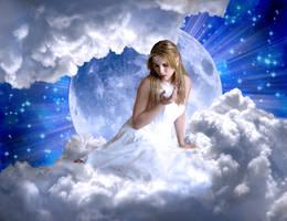 Moon Goddess by Silverayn