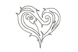 Tribal Heart by Silverayn