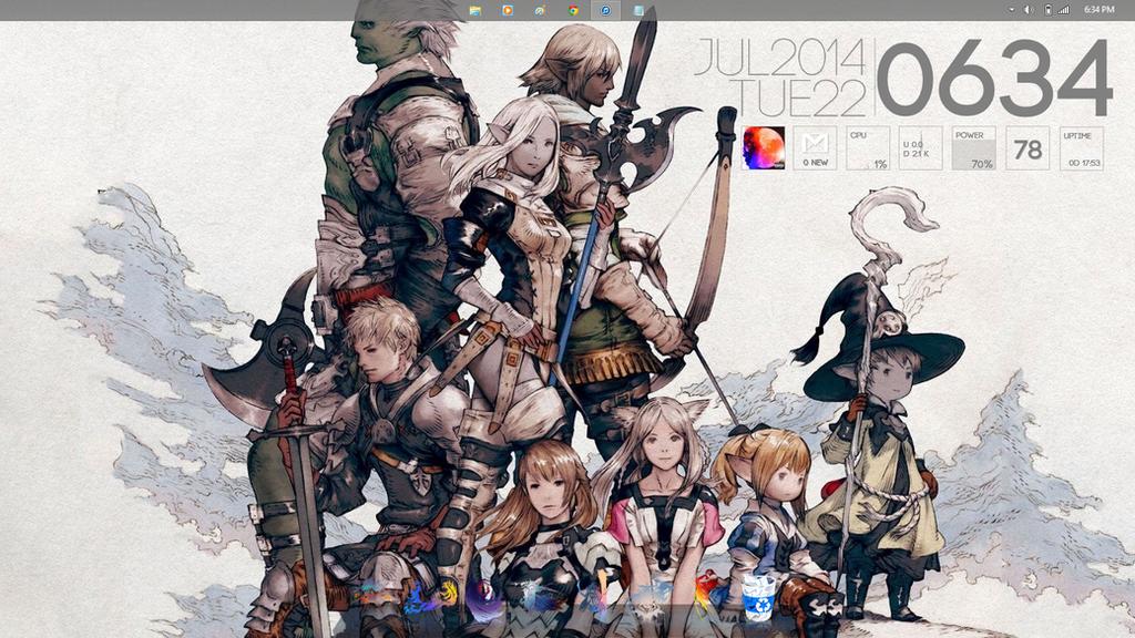 Final Fantasy Theme by RedX08