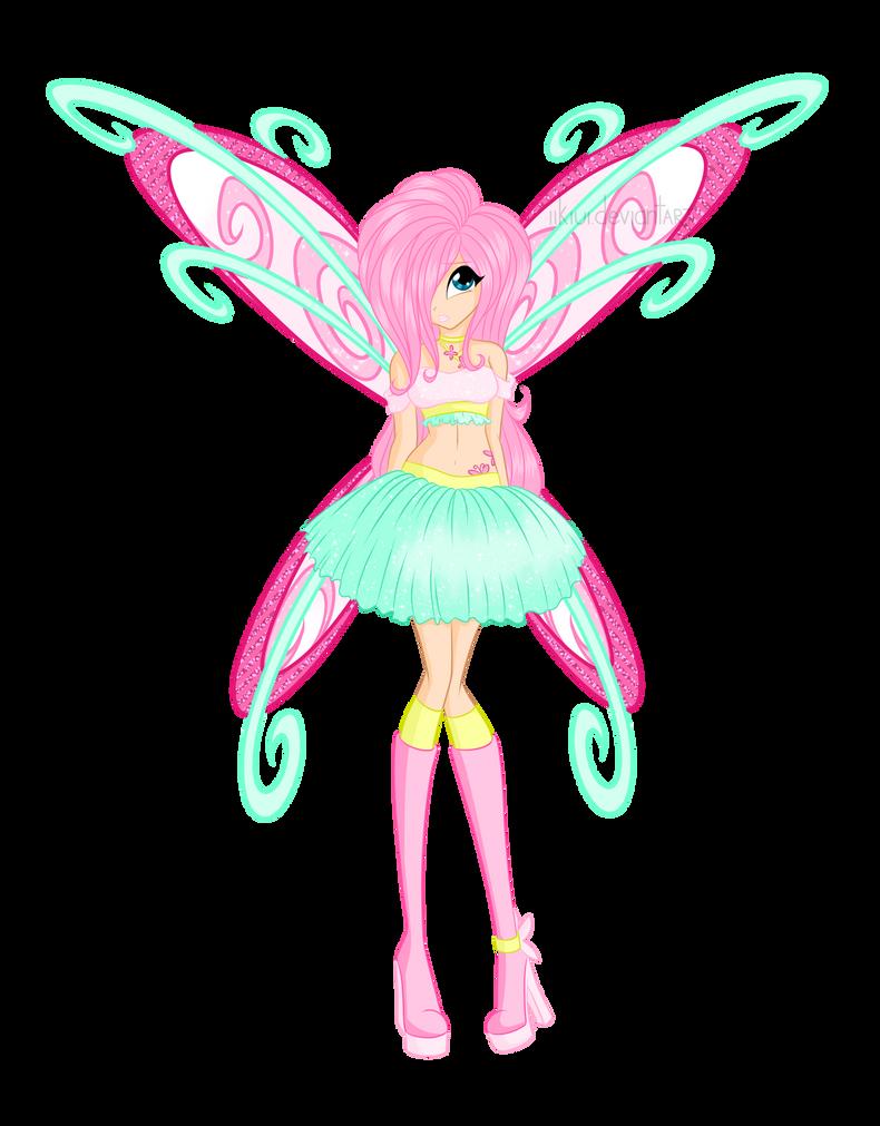 Winx Fluttershy! by iiKiui