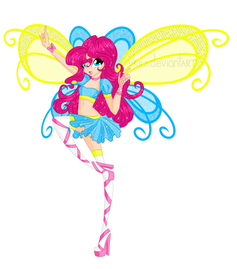 Winx: Pinkie Pie! by iiKiui