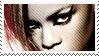 Rihanna Stamp by CalintzK