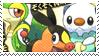 Isshu Starters Stamp