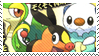Isshu Starters Stamp by CalintzK