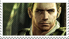 Chris Redfield Stamp by CalintzK