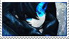 Black Rock Shooter Stamp by CalintzK