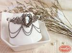 Faerie Warrior Vintage Silver Bracelet