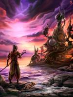 Morrowind: Telvanni Tower by Eldanaro