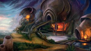 Morrowind: Grazelands by Eldanaro