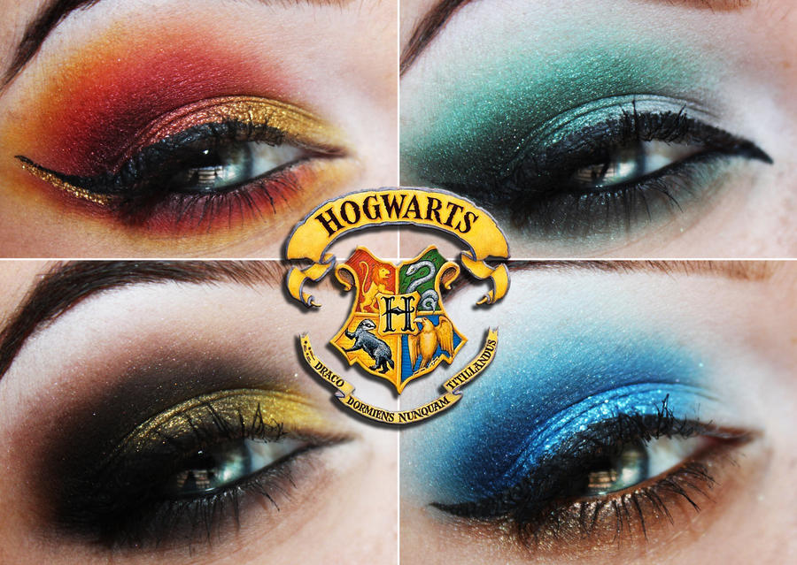 Hogwarts Houses by Unique-Desire