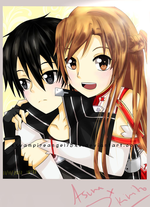 Sword Art Online - Kirito x Asuna by xXvampireangel78Xx