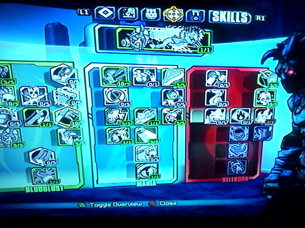 my psycho skill build (B L 2) by des-rookie on DeviantArt