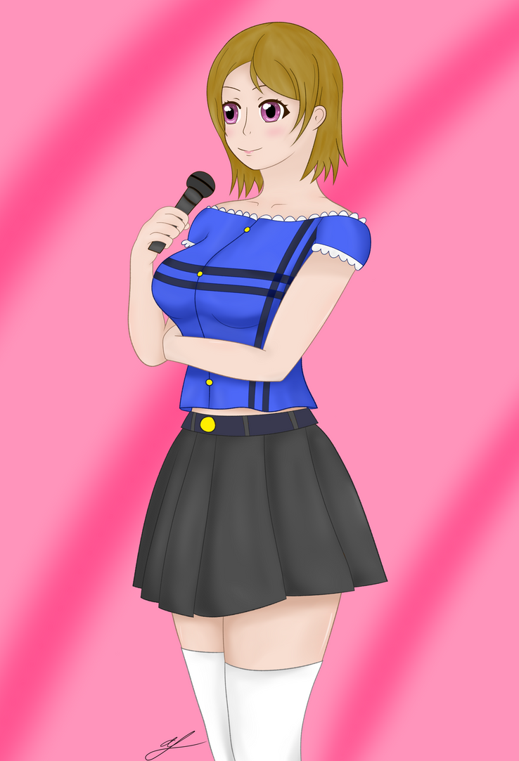 Another Hanayo by whiteparadox3