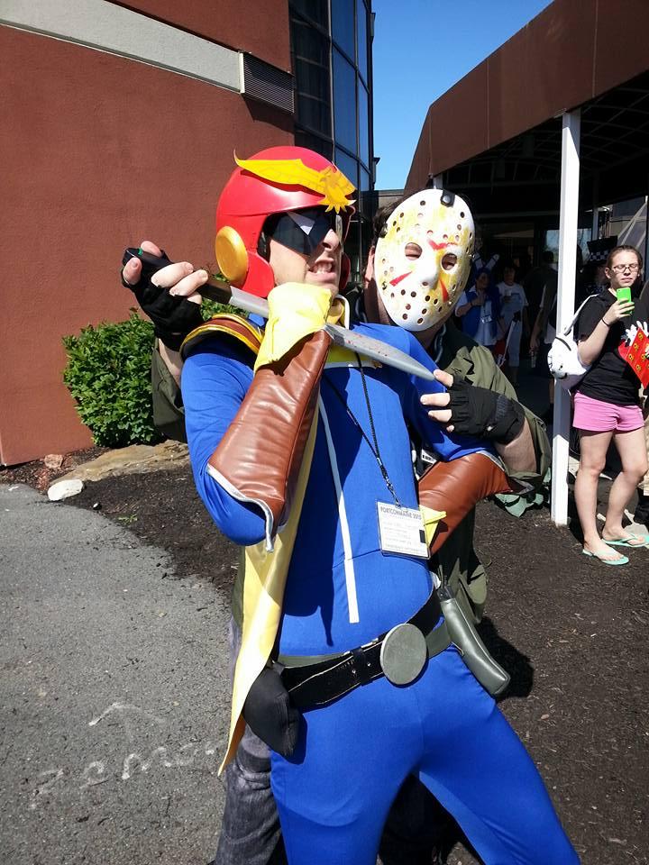 Jason vs. Captain Falcon by MLBlue